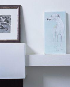 Lumière blanche chez une artiste