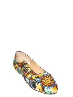 DOLCE & GABBANA - printed loafer 2