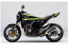 Kawasaki Z1000 with retro body kit by Deals and Wheels