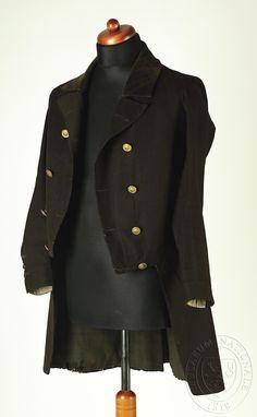 coat allegedly worn by Josef Kajetán Tyl, first half of the 19th century
