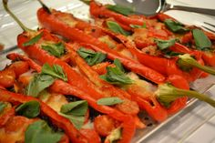 Cooking with Gaggenau - Roasted Romano Peppers - Wignore Street - Humphrey Munson Blog