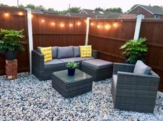 Vancouver 5 Seater Rattan Garden Furniture Set In Grey Black Rattan Garden Furniture, Outdoor Furniture Sets, Outdoor Decor, X Coffee Table, Long Sofa, Single Chair, Grey Gardens, Grey Cushions, Sit Back And Relax