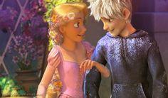 tangled Rapunzel jack frost rise of the guardians jackunzel ...