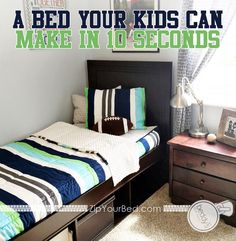 Perfect for bunk beds and trundle beds too!