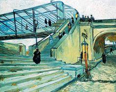Vincent Van Gogh - Post Impressionism - Arles - Le pont de Triquetaille