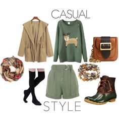 Fall casual style wear by blackcat60 on Polyvore featuring Topshop, Sperry Top-Sider, Burberry and Hipchik