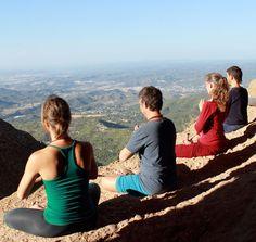 Hiking & Meditation at Montserrat, Spain