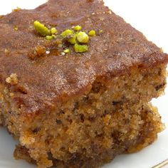 This tasty walnut honey cake recipe is perfect with a cup of coffee or fresh pot of tea!. Walnut Honey Cake Recipe from Grandmothers Kitchen.
