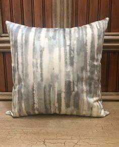 Ombré Pillow Cover, Grey Pillow, Pale Blue Pillow Cover, Throw Pillows, Home Decor Pillows Buy Pillows, Sofa Pillows, Throw Pillows, Contemporary Pillow Covers, Oversized Pillows, Blue Pillow Covers, Cover Gray, Christmas Pillow, Pillow Forms
