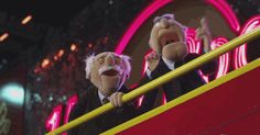 The Muppets 2011 Old Movie Cinema, The Muppets 2011, Statler And Waldorf, Kids Shows, Favorite Tv Shows, Tumblr, Cool Stuff, Memes, Nightclub