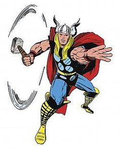 RMK2357GM Marvel Classic Thor Peel and Stick Giant Wall Decals | Accents For Walls