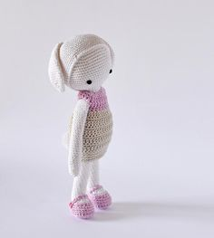 Yvonne pretty bunny :: crochet kit :: at the shop now !