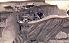 The Shell Bazaar in Port St. Lucie, Florida (1958)