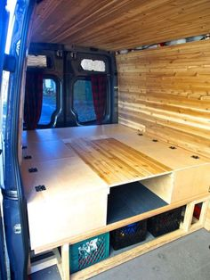 Campervan Bed Design Ideas 68