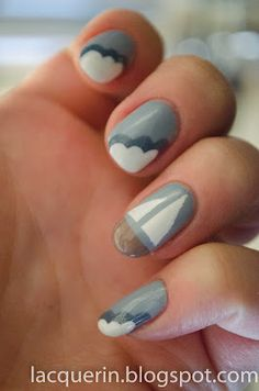Sailboat nails :)