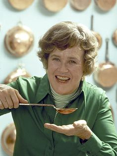 With her breakout 3-lb. cookbook Mastering the Art of French Cooking (co-authored with Simone Beck and Louisette Bertholle) and subsequent public television show The French Chef, Julia Child not only introduced meatloaf-reliant Americans to the delights of French cuisine but also enlightened a fine-food-fearing nation that cooking should be a craft, not a chore.