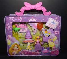 Disney Princess Little Kingdom Rapunzel's Party NEW! #Mattel