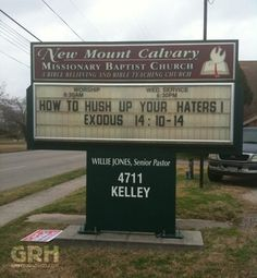 Best. Church sign. Ever.