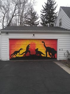 1000 Images About Garage Doors Murals And Paintings On