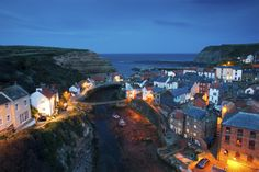 Twilight at Staithes by Daryl Hutchinson on 500px