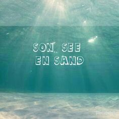Son, see en sand