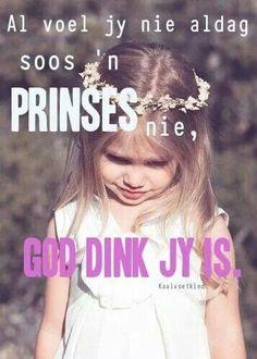 Eks my Pappa Vader se prinsessie