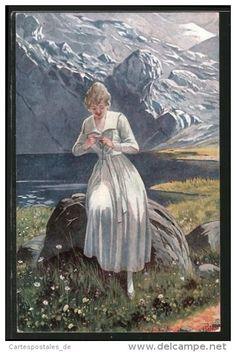 Illustrateur O. Peter - Delcampe.net