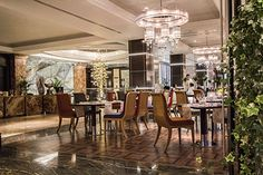 Intercontinental Hotel Moscow Russia #ISAACLIGHT lights up the Intercontinental Hotel in Moscow