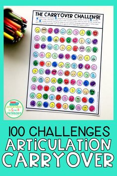 If you like using 100 trials for articulation in speech, try this version to help students carryover their sound to the conversation. Help students to get more practice trials for articulation as part fo their homework. This set is part of a larger packet to help with speech carryover. Speech Therapy Activities, Language Activities, Speech Language Pathology, Speech And Language, Childhood Apraxia Of Speech, Speech Delay, Articulation Therapy, Preschool Special Education, School Psychology