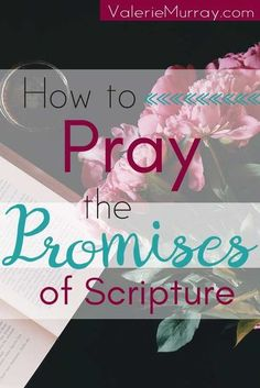 How to Pray the Promises of Scripture