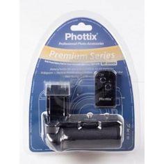 [47090] Phottix - 500Di Battery Grip for Canon 450D/500D/1000D (BG-E5) with Infrared Control (BP-500Di)