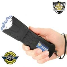 The Streetwise stun gun is a self defense device which disrupts the message the brain sends to the voluntary muscles. Simply touching an attacker with a stun gun for three to five seconds will deliver a high voltage shock causing loss of balance and muscle control, confusion, and disorientation bringing him to his knees and making him incapable of further aggressive activity. Full recovery takes about five to ten minutes and there is no permanent harm.