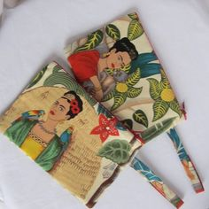 frida kahlo coin purse or make up bag by twentysevenpalms | notonthehighstreet.com