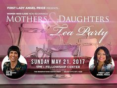 Ladies, First Lady Angel Brown Price presents Women Who Care on Sunday, May 21st at 1:00PM in the Fellowship Center. First Lady invites you to join her for this very special Mothers & Daughters Tea as we celebrate mothers with words of wisdom from Dr. Betty Price. Mothers and daughters of all ages are welcome. Dress to a tea; hats and gloves are encouraged. Tickets are available in the Reservations Department. 323.758.3777 x4228