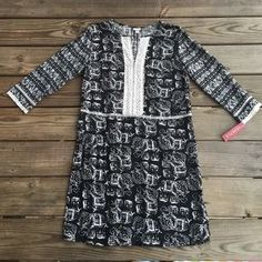 I just discovered this while shopping on Poshmark: Black and White Tribal Elephant Dress. Check it out! Price: $15 Size: M