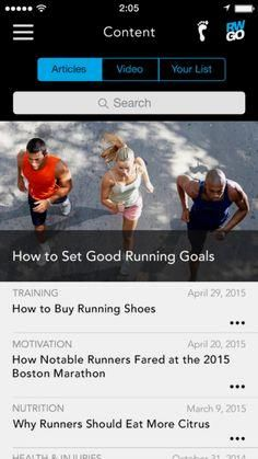 Download Runner's Wo     Download Runner's World Go and get training plans, advice, weather updates, and run-tracking on your phone.