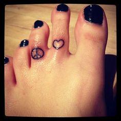 toe tattoo -- cami_ll on Instagram