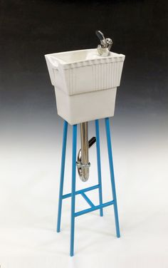 Jeremy Hatch and Jim Zimpel. WaterCooler, Porcelain Metal Plumbing, 14x 10 x 40 . $2000