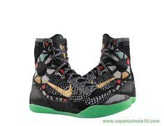 """tenis barato de marca Masculino """"All Star"""" Nike Kobe 9 Elite Preto 630847-002"""