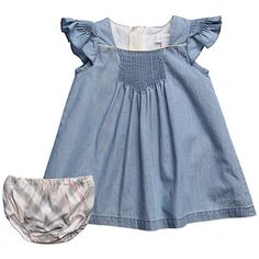 Love this denim dress, Burberry Spring/Summer 2012 <3