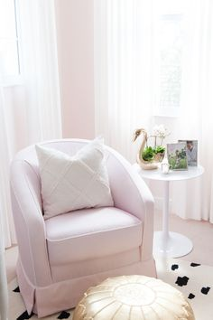 Nursing Nook in a Fe