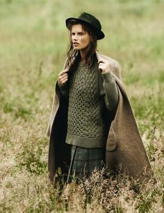 visual optimism; fashion editorials, shows, campaigns & more!: countryside…