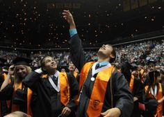 Ames High class of 2012 - More than 300 students bid farewell to their high school years as they received their diplomas during the Ames High School graduation ceremony Sunday at Hilton Coliseum. Ames Tribune/Photo by Nirmalendu Majumdar High School Years, High School Graduation, High Class, Students, Sunday, Photos, Festivals, Domingo, Pictures