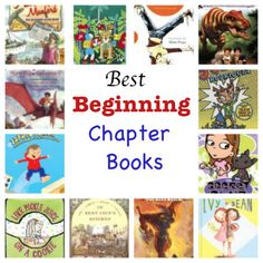 best easy chapter books, best beginning chapter books, 2nd books for kids, 3rd grade books for kids :: PragmaticMom