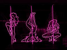 neon, pink, and light image Pole Dance, The Wolf Among Us, Neon Noir, Neon Aesthetic, Photo Wall Collage, Pink Walls, Neon Lighting, Aesthetic Wallpapers, Iphone Wallpaper