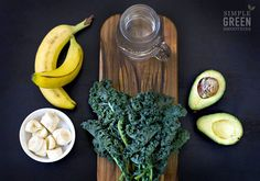 Avo-Banana Kale Green Smoothie - Simple Green Smoothies