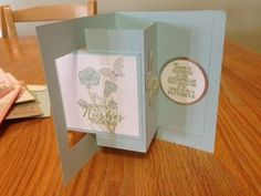 Pop Out Swing Card; Butterfly Basics Stamp Set; www.jansstampingcreations.com