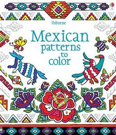$5.99 Designs to color taken from thousands of years of Mexican art, from Aztec motifs used in carvings, temple decoration and jewellery to more modern patterns taken from baskets, textiles, clothes and folk art. An interactive way to learn about the history of art in Mexico, with snippets of information on traditional techniques, media and colors.