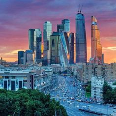 Moscow International Business Centre in Russia #HeathrowGatwickCars.com