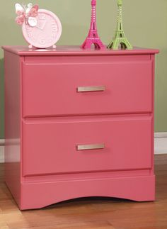 Spectrum 2 Drawer Nightstand